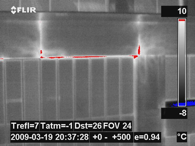 Infrared Building Heat Loss